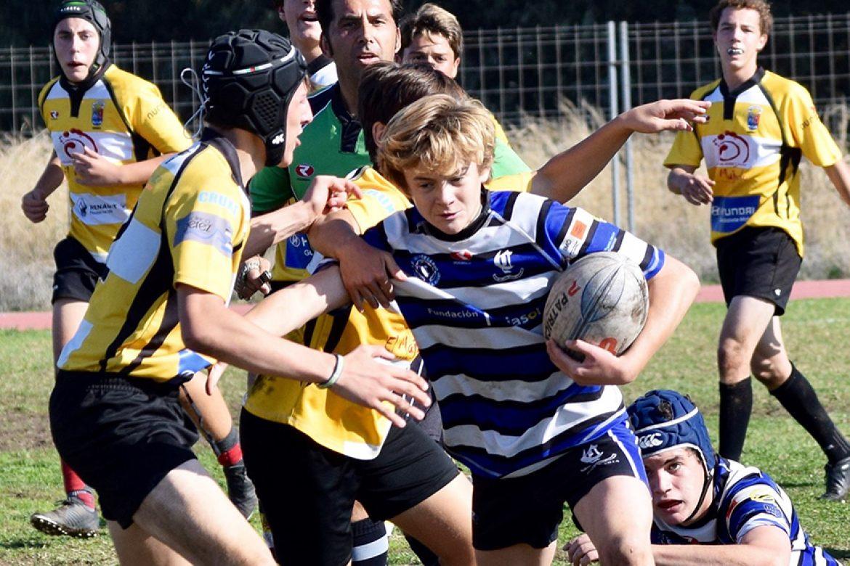 Sub 16. Sábado de sol y rugby en la Olavide