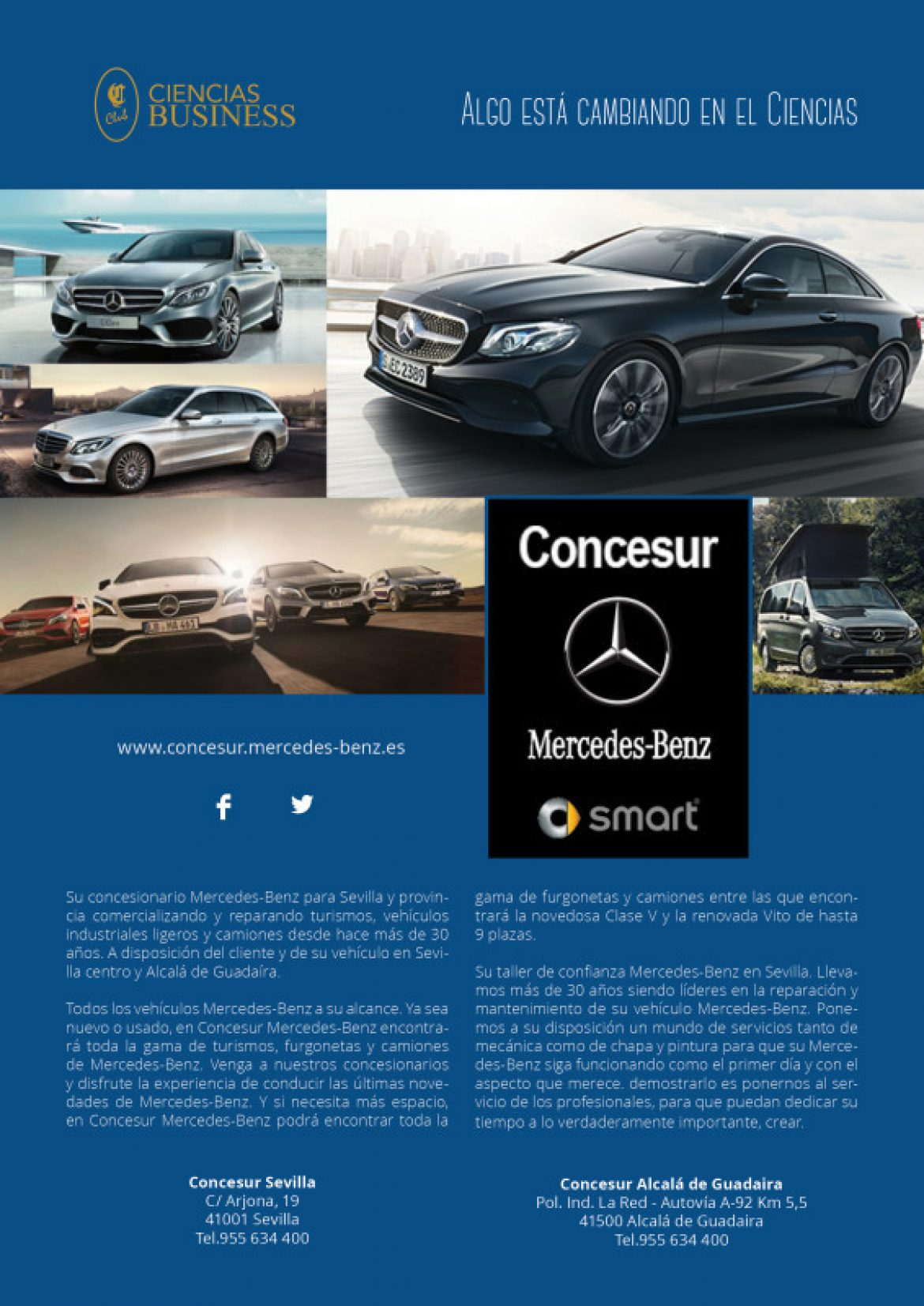 Ciencias Business. Concesur Mercedes-Benz