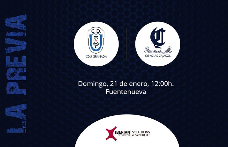 Previa CDU Universidad de Granada vs Ciencias Cajasol