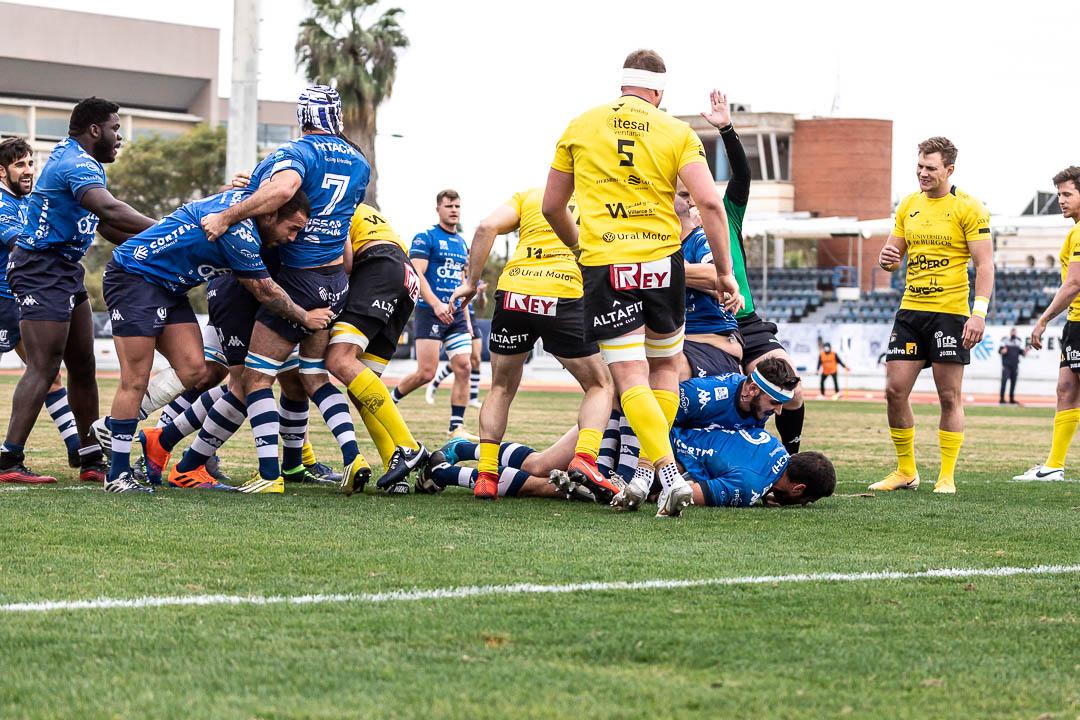 ciencias rugby sevilla burgos