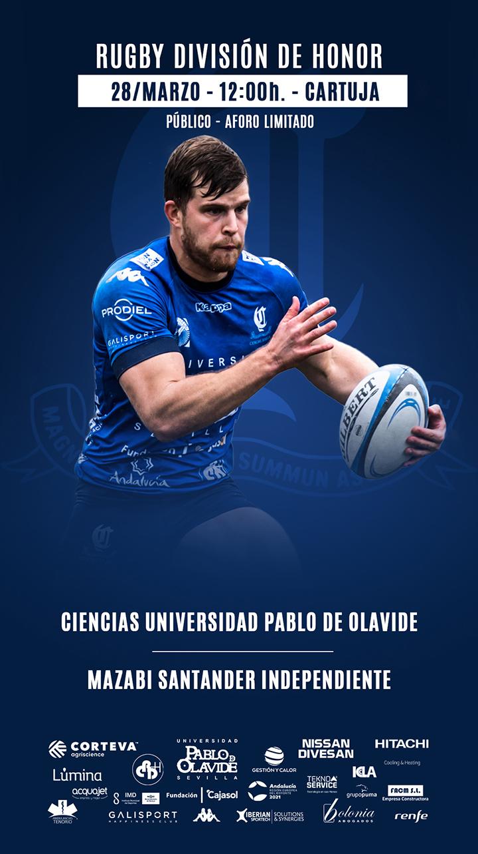 ciencias rugby sevilla cartel independiente