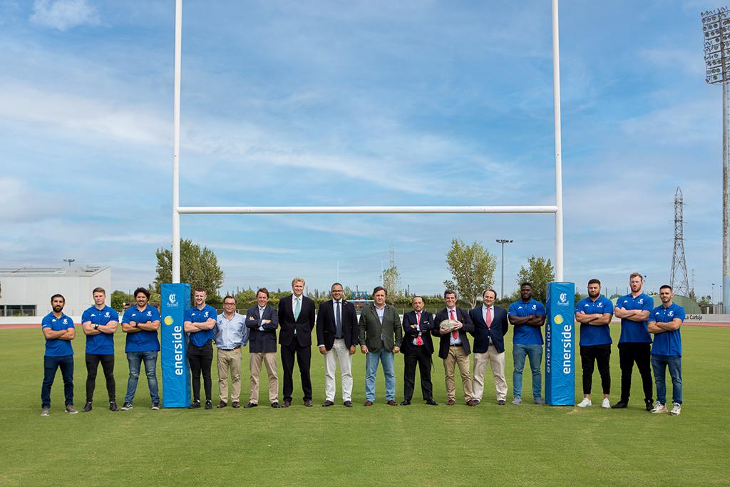 ciencias rugby sevilla enerside visita