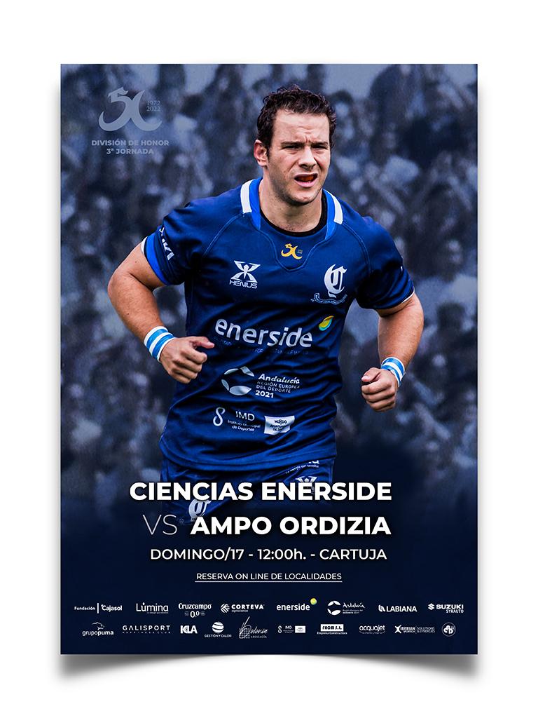 ciencias rugby sevilla cartel ordizia