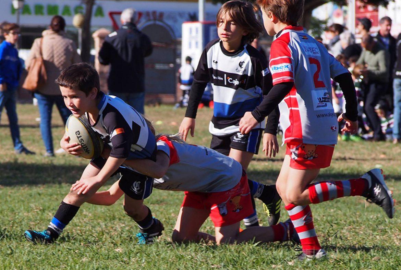 Escuela. Crónicas de un gran sábado de rugby