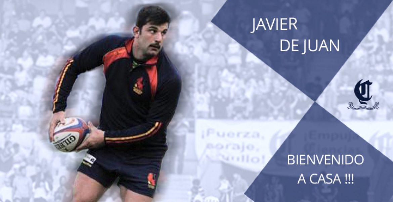 Javier de Juan vuelve a casa