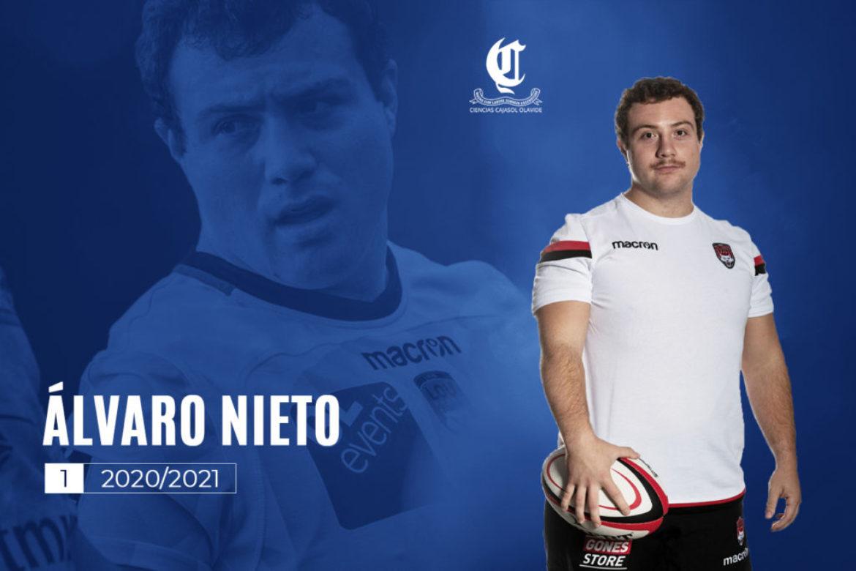 Álvaro Nieto vuelve al Ciencias Cajasol Olavide tras su paso por el rugby francés