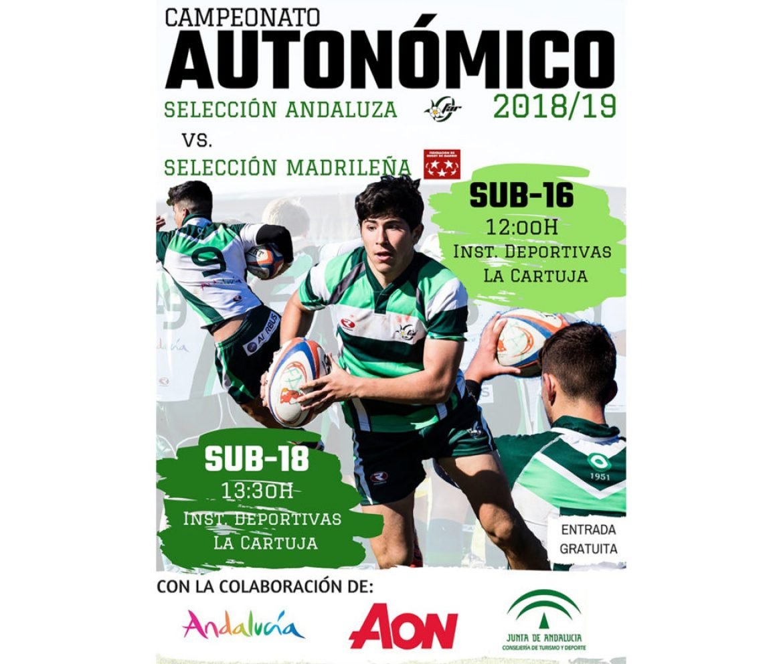 Sub 16 y sub 18. Campeonato de España de Selecciones Territoriales