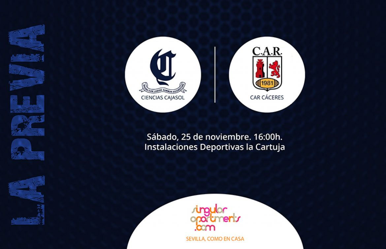 Previa Ciencias Cajasol vs CAR Cáceres
