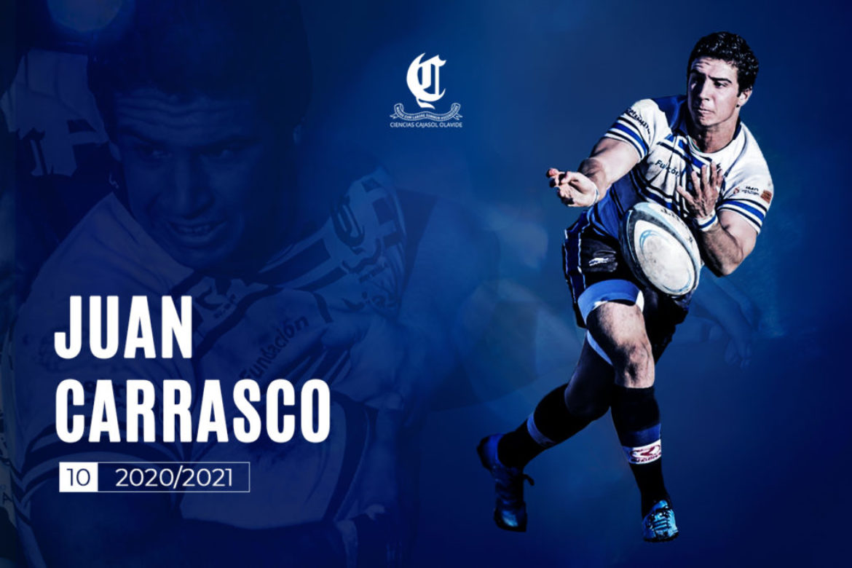 Juan Carrasco primera novedad 2020/2021