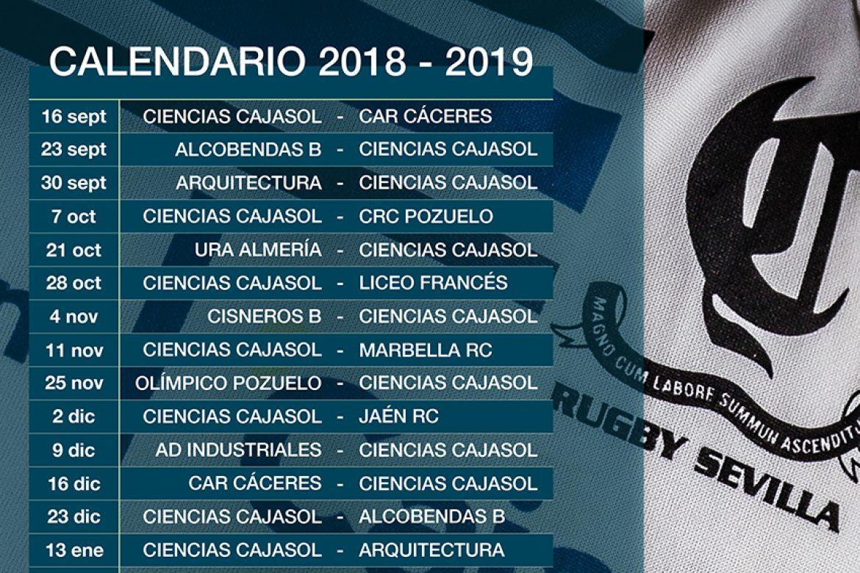 Calendario 2018 – 2019