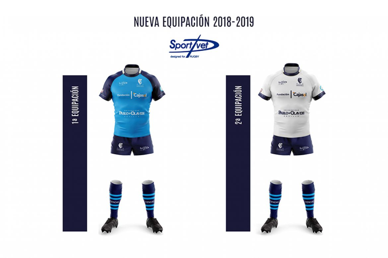 Nuevas equipaciones para el primer equipo