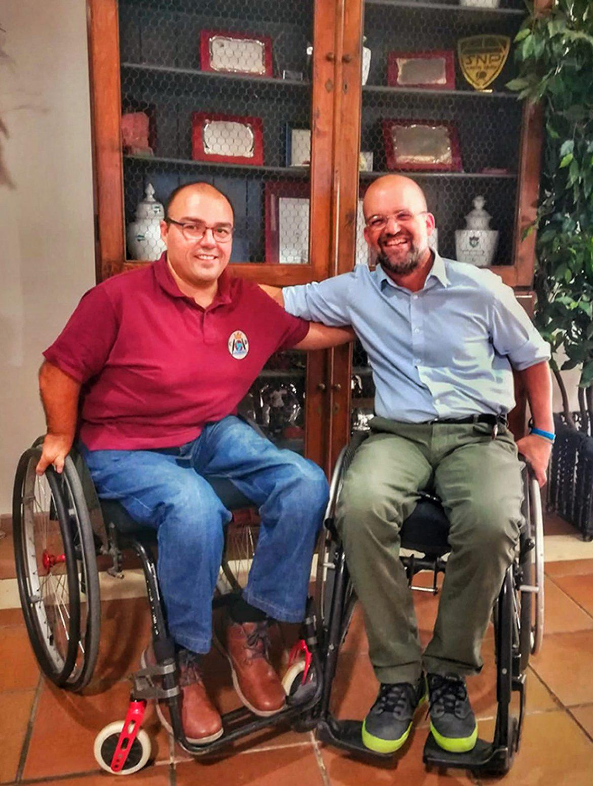 Colaboramos con el rugby en silla de ruedas