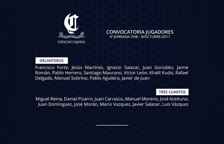 Previa Ciencias Cajasol vs C.D. Universidad de Granada