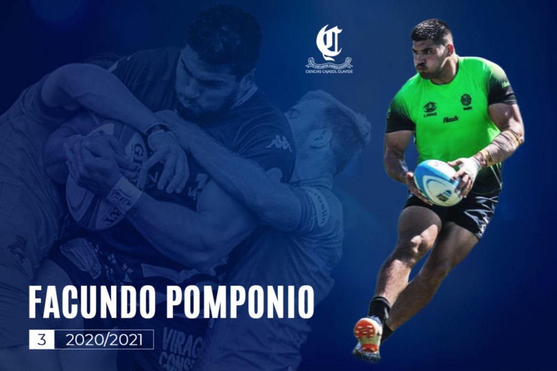 Facundo Pomponio nuevo jugador de Ciencias Cajasol Olavide