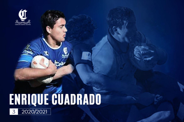 Enrique Cuadrado sube al primer equipo