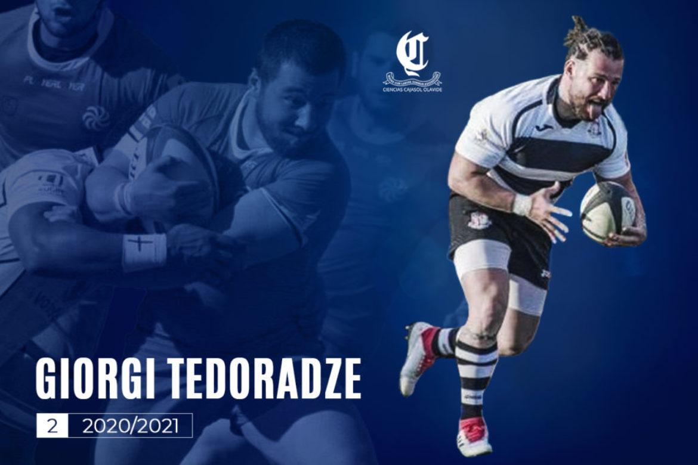 Giorgi Terodadze nuevo jugador del Ciencias Cajasol Olavide