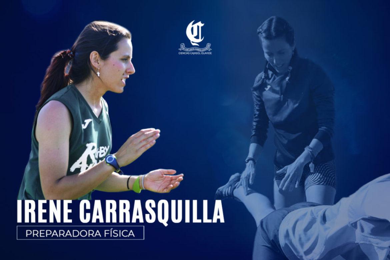 Irene Carrasquilla nueva preparadora física del Ciencias Cajasol Olavide