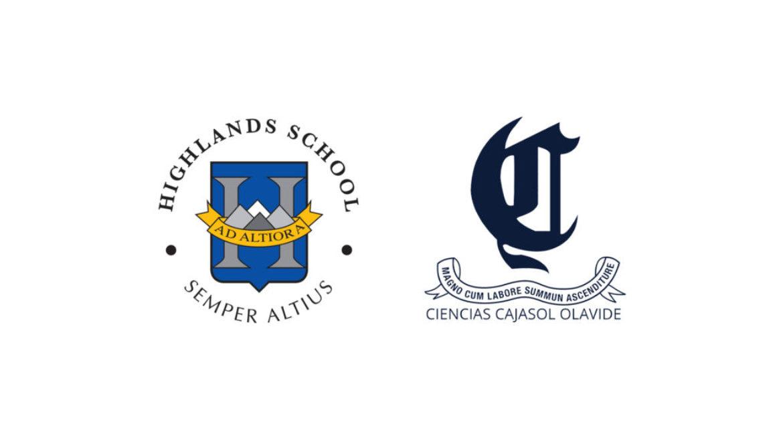 Acuerdo de colaboración entre Highlands School Sevilla y Ciencias Cajasol Olavide