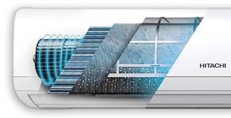 Hitachi presenta la nueva tecnología FrostWash que consigue mejorar la calidad del aire