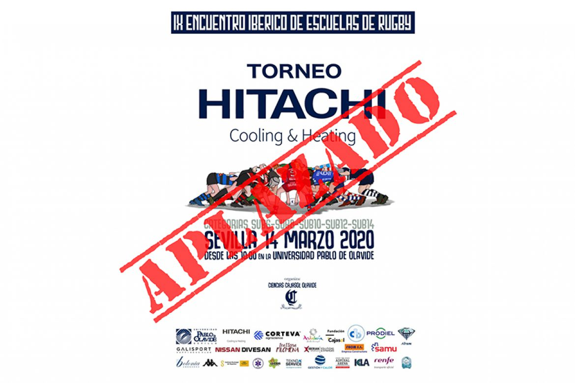 El Torneo Hitachi Cooling Heating aplazado