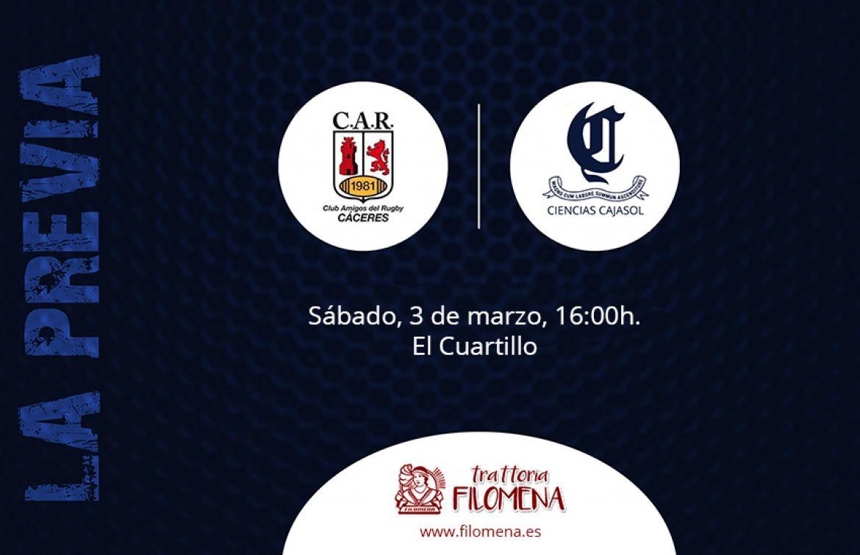 Previa CAR Cáceres vs Ciencias Cajasol