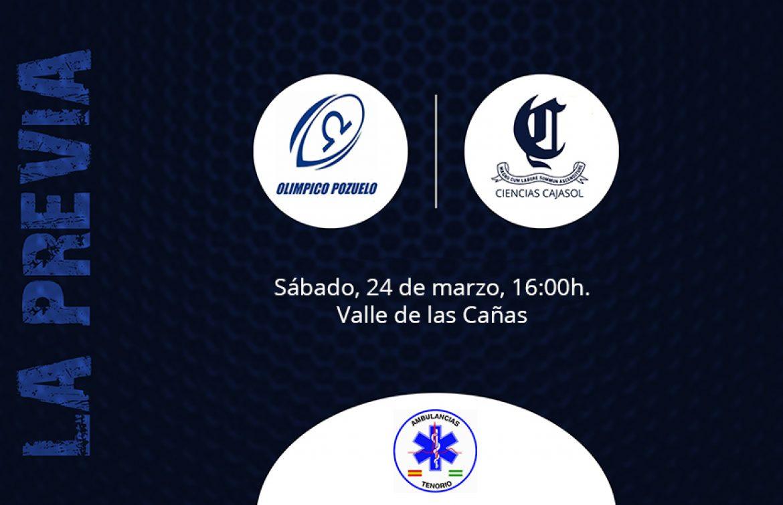 Previa Olímpico Pozuelo vs Ciencias Cajasol