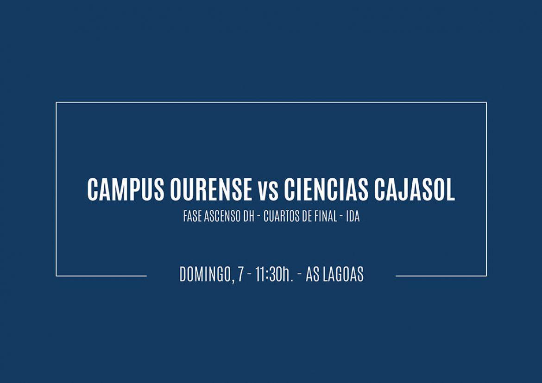 Previa Campus Ourense vs Ciencias Cajasol